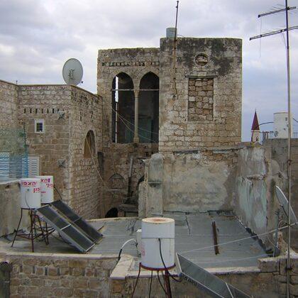 שיקום מבנה בעכו העתיקה