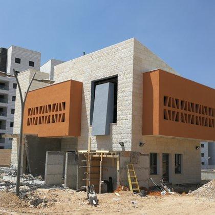 בית הכנסת בתהליכי בניה מתקדמים