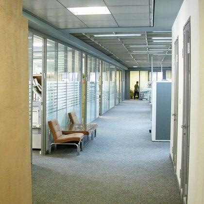 שיפוץ מבנה משרדי חברת ביטוח ויזמות