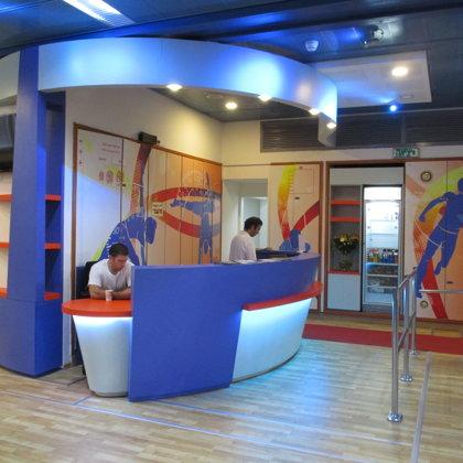 חדר כושר, מרכז הספורט באוניברסיטת תל אביב