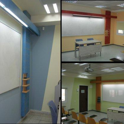 שיפוץ מכללת סמינר הקיבוצים בתל אביב- מרחבי למידה פנימיים