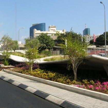 פרויקט לה גארדיה - המסגר, תל אביב / פיתוח סביבתי ותשתיות - פיתוח נופי