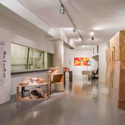מתוך חתך | מבנים אפשריים - תערוכת יחיד בגלריה פריסקופ