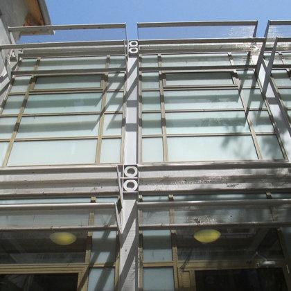חזית מוזיאון נחום גוטמן המחודש: במשרד רוני זייברט אדריכלים