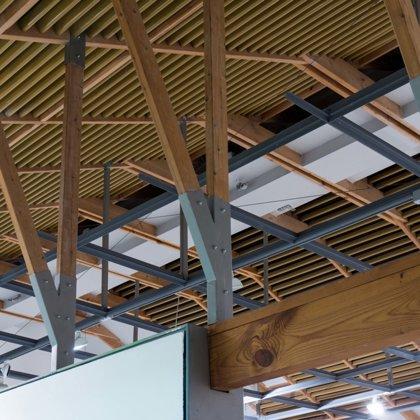 קונסטרוקציית גג במוזיאון נחום גוטמן: במשרד רוני זייברט אדריכלים | צילום: יואב פלד