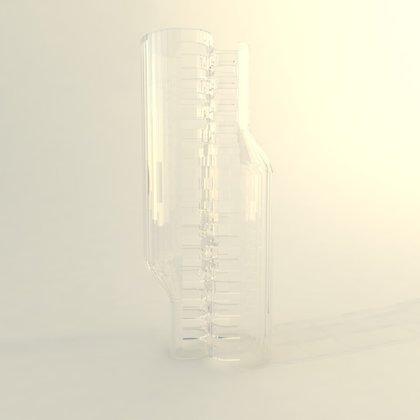 """הדמיות פרויקט """"חצי בקבוק"""""""